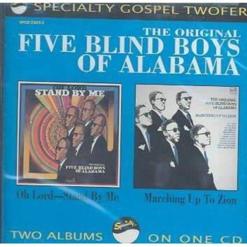 Five blind boys of a - Oh lord stand by me (CD)