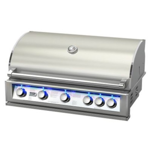 BroilChef 5-Burner Built-In Propane Gas Grill