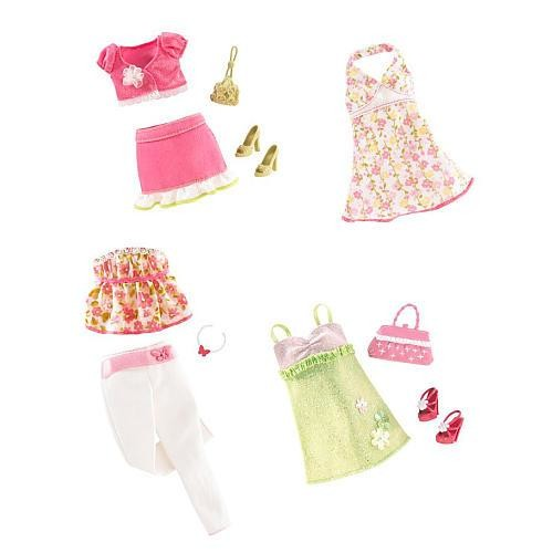 Barbie Sweet Wardrobe Fashion Doll Outfit - Garden Party