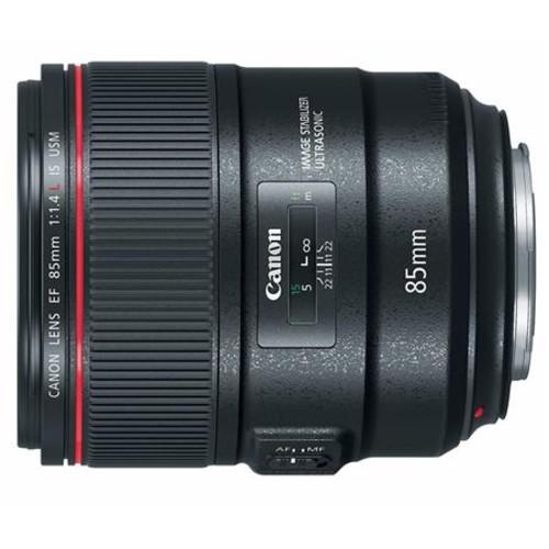 Canon EF 85mm f/1.4L IS USM AutoFocus Telephoto Lens - USA