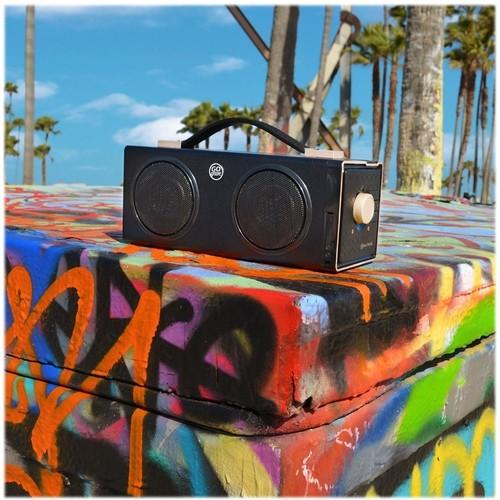 GOgroove - Portable Bluetooth Speaker - Black
