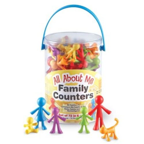 Learning Resources All About Me Family Counters, 72/Set