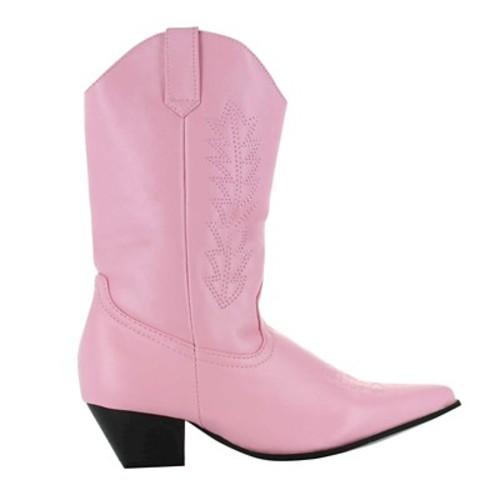 Halloween Girls' Rodeo Boots Pink