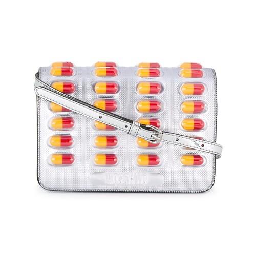 MOSCHINO Pill Blister Pack Crossbody Bag
