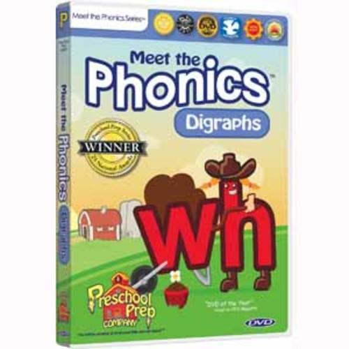 Meet the Phonics - Digraphs - DVD