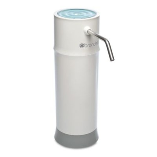 Brondell H2O+ Pearl Countertop Water Filtration System in White