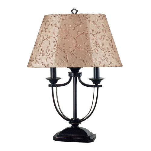 Kenroy Home Belmont Outdoor Table Lamp [Oil-Rubbed Bronze Finish]