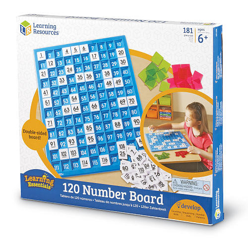 Learning Resources 120 Number Board Game