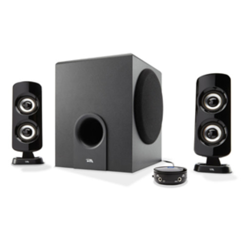 Cyber Acoustics 52W Peak Power Speaker System with Control Pod