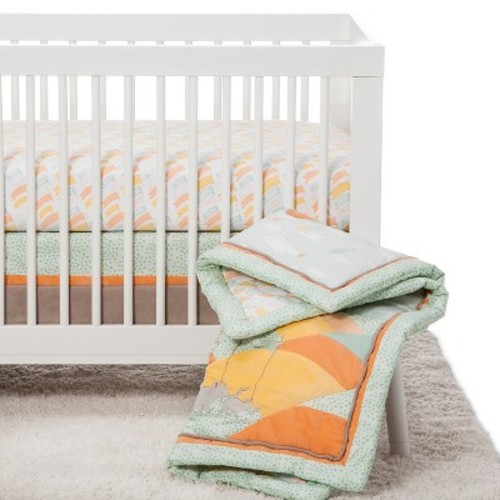 Dr. Seuss by Trend Lab Crib Bedding Set 5pc - Oh the Places You'll Go!