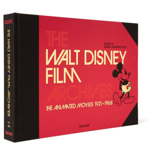 Taschen - The Walt Disney Film Archives: The Animated Movies 1921-1968 Hardcover Book
