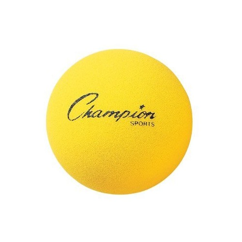 Champion Sports Uncoated Regular Density Foam Ball