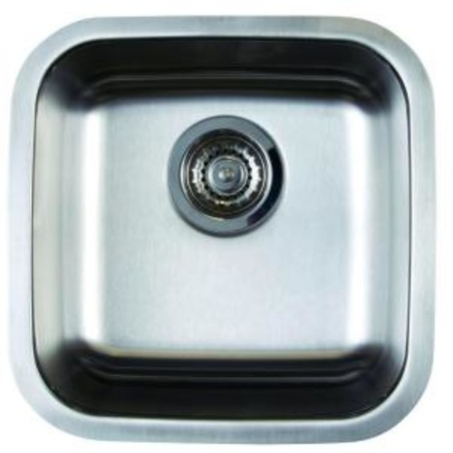 Blanco Stellar Undermount Stainless Steel 15 in. Single Bowl Bar Sink