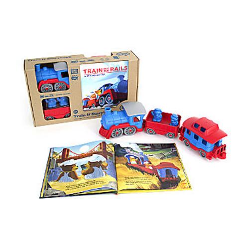 Green Toys Storybook & Train Set