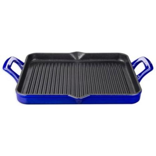 La Cuisine 1 qt. Rectangular Cast Iron Grill Pan