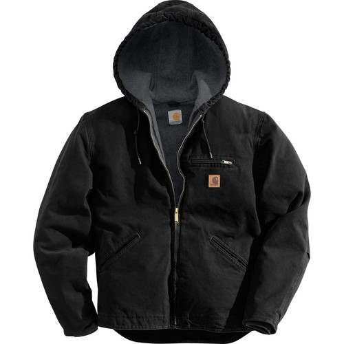 Carhartt Men's Sierra Hooded Work Jacket  Regular