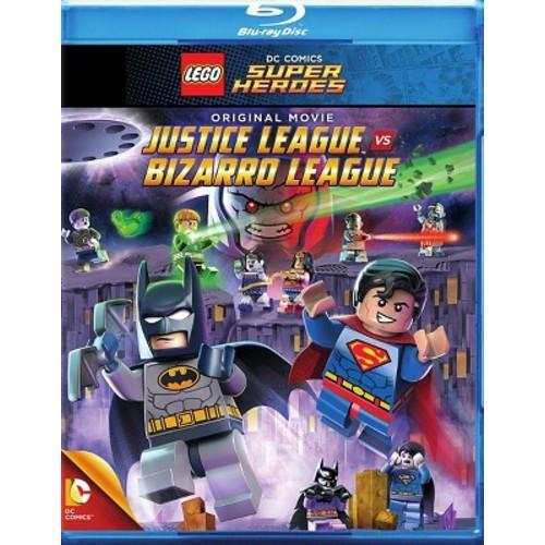 LEGO DC Comics Super Heroes: Justice League vs. Bizarro League [Blu-ray/DVD] [2015]