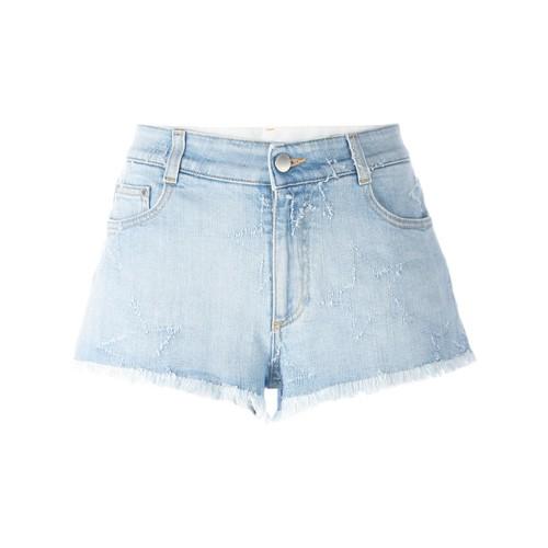 STELLA MCCARTNEY Fringed Star Shorts