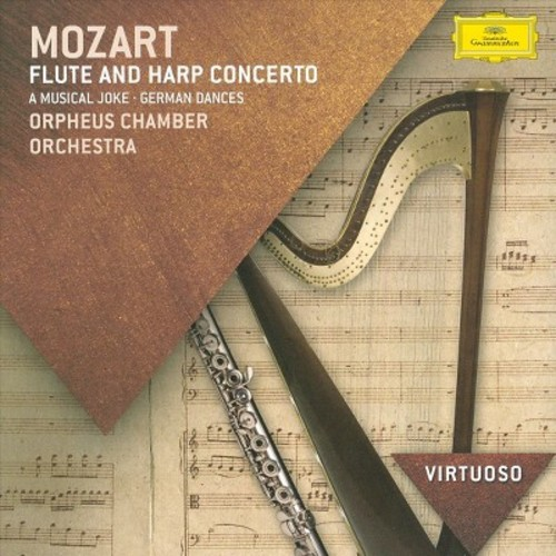 Orpheus Chamber Orchestra - Mozart: Flute and Harp Concerto (CD)