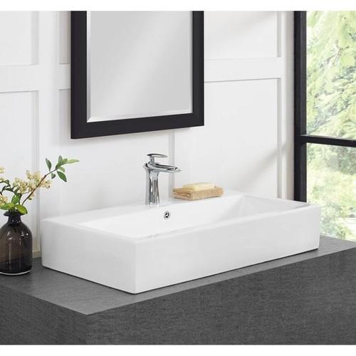 Swiss Madison Voltaire 30 Inch Wide Bathroom Vessel Sink