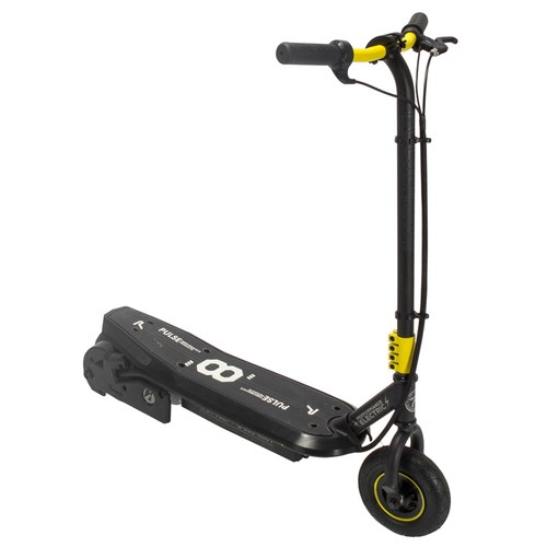 Pulse Performance Products Sonic XL Electric Scooter - Black/Yellow