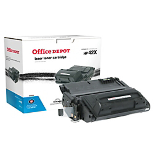 Office Depot Brand 42X (HP 42X) Remanufactured High-Yield Black Toner Cartridge