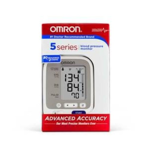 Omron 5 Series Dual User Blood Pressure Monitor With D-Ring Cuff, BP 742N