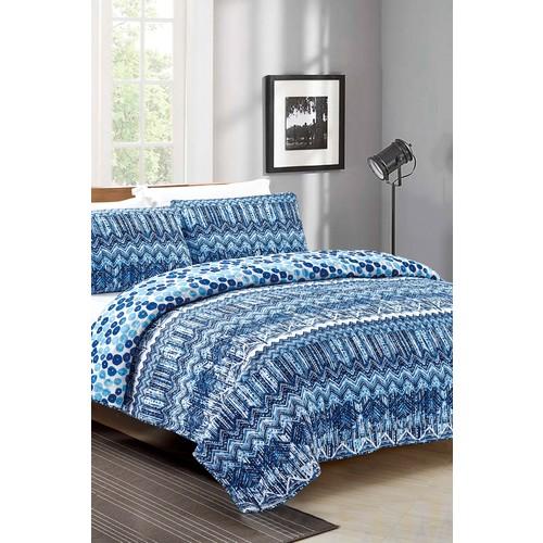 Fabrizia Quilt Set - Blue