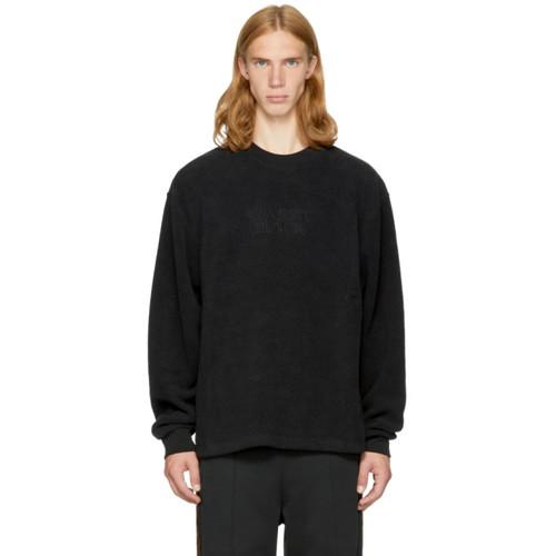 ALEXANDER WANG Black Fleece 'Classic Black' Sweatshirt