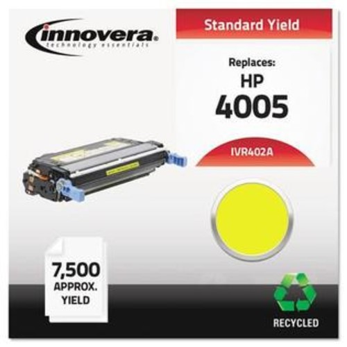 Innovera 402A Remanufactured CB402A (642A) Laser Toner, 7500 Yield, Yellow