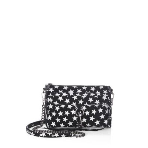 Mini Mac Suede Crossbody Bag
