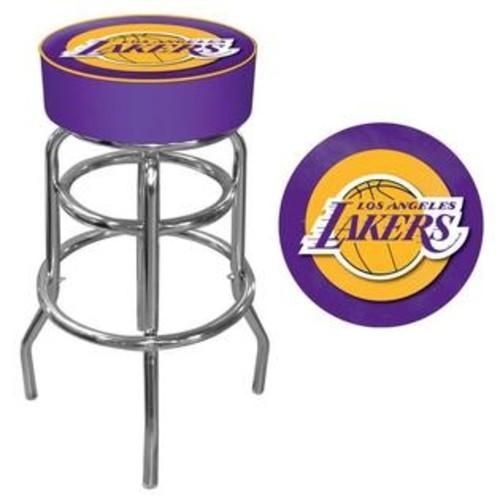 Trademark Los Angeles Lakers NBA Padded Swivel Bar Stool