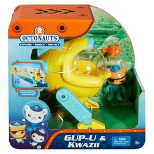 Fisher Disney Junior Octonauts Gup-U and Kwazii Playset