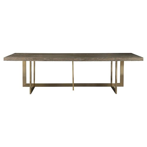Jamison Dining Table, Charcoal