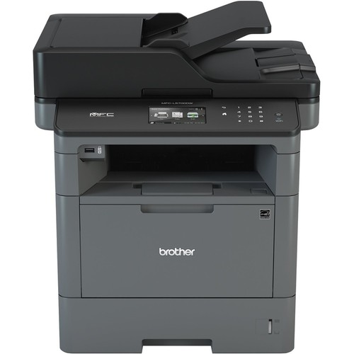Brother - MFC-L5700DW Wireless Black-and-White All-In-One Laser Printer