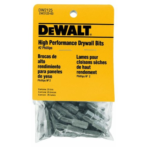 DeWalt 25-Piece Drywall Screwdriver Bit Set - DW2125