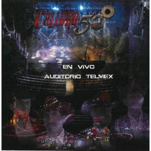 Calibre 50 - En Vivo Auditorio Telmex (CD)