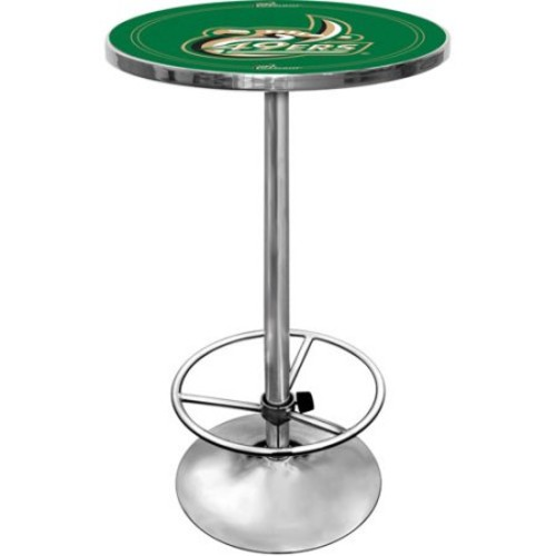 Trademark University of North Carolina Charlotte Chrome Pub/Bar Table