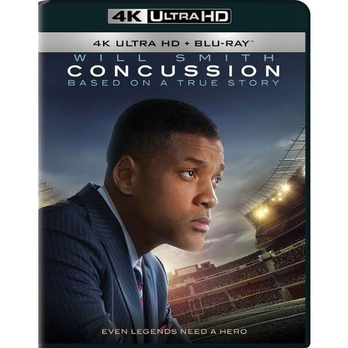 Concussion [4K UHD] [Blu-Ray]