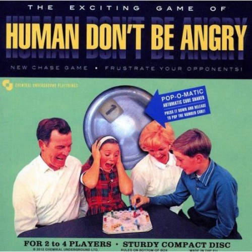 Human Don't Be Angry [CD]