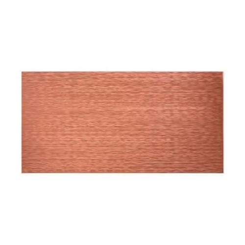 Fasade Ripple Horizontal 96 in. x 48 in. Decorative Wall Panel in Argent Copper