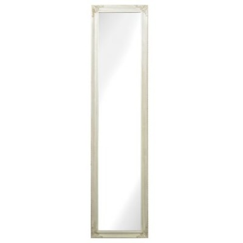 Sterling Industries Masalia Floor Mirror in Antique White