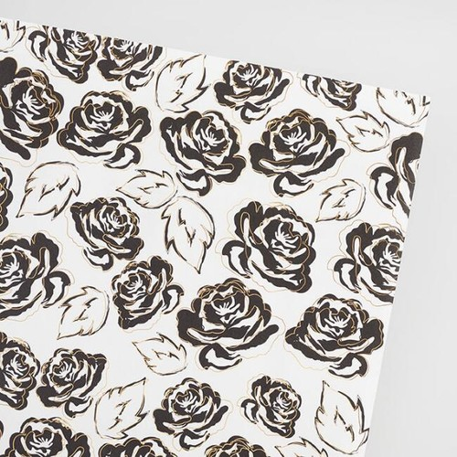Gilded Roses Wrapping Paper Roll