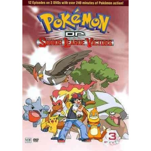 Pokemon DP: Sinnoh League Victors 3 (DVD)