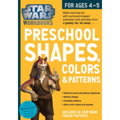 Star Wars Workbook: Shapes, Colors and Patterns