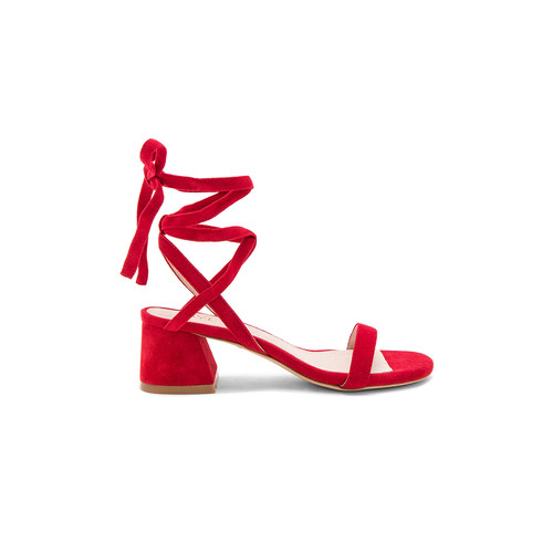 RAYE Candy Sandal in Rouge