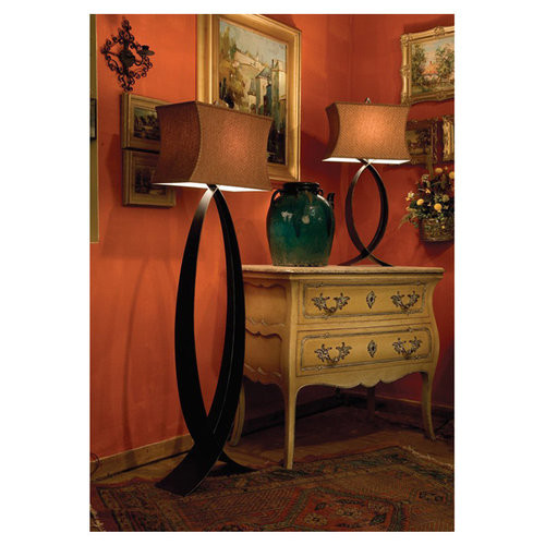 Kenroy Home Pisces Floor Lamp [Bronze]
