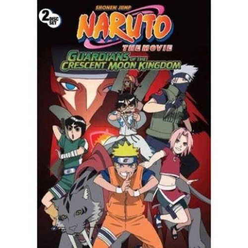 Naruto:Movie 3 guardians of the cresc (DVD)