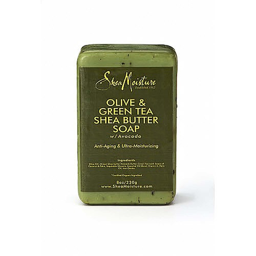 Shea Moisture Olive & Green Tea Shea Butter Soap with Avocado