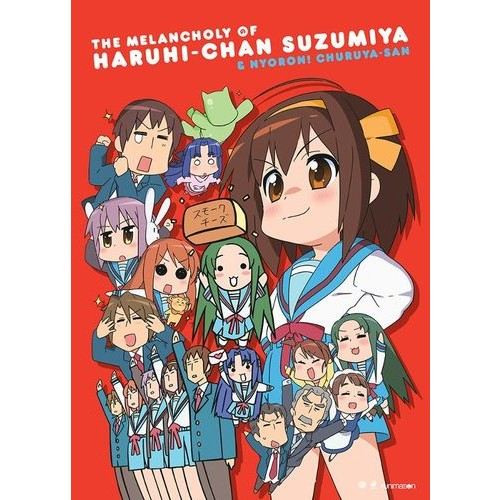 The Melancholy of Haruhi-Chan Suzumiya and Nyoron! Churuya-San: The Complete Series [2 Discs] [DVD]